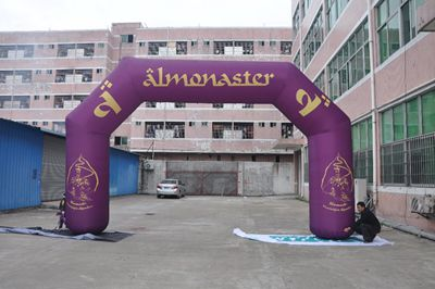 Wholesale Outdoor advertising display inflatable tube for sale
