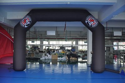 Customized high quality Outdoor advertising display inflatable tube