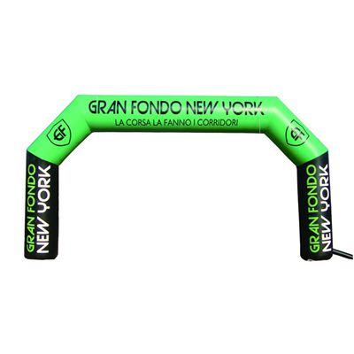 Finished line outdoor advertising inflatable arch for sale