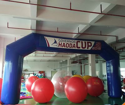 Customized  advertisement inflatable  arch for sale